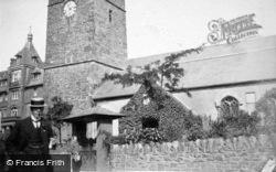 Parish Church 1909, Lynton
