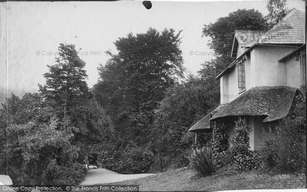 Photo of Lynton, The Cottage Hotel c.1871