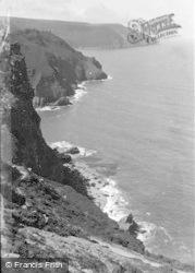 Lynton, The North Walk c.1947