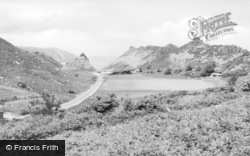 Lynton, The Road To Lee Abbey c.1935