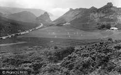 Lynton, Valley Of Rocks 1929