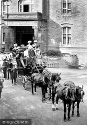 Lynton, Valley Of Rocks Hotel 1907