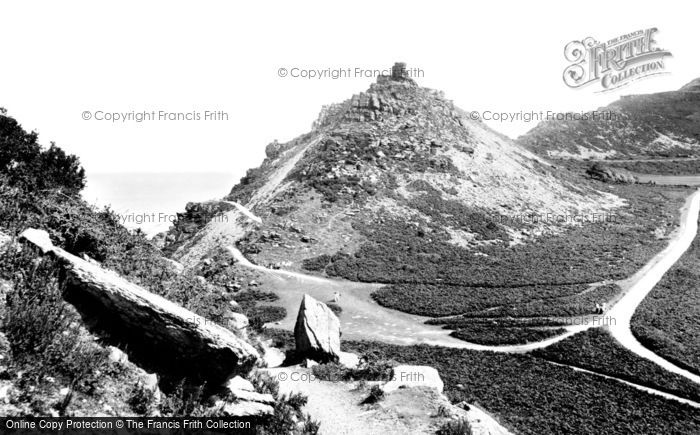 Photo of Lynton, Valley of Rocks, Ragged Jack 1907, ref. 59384