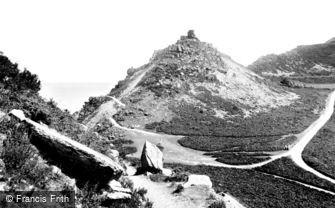 Lynton, Valley of Rocks, Ragged Jack 1907