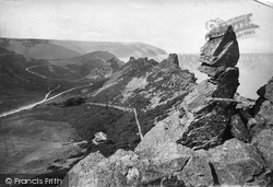Lynton, Valley Of The Rocks 1911