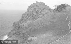 Lynton, Valley Of The Rocks 1938