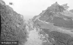 Lynton, Valley Of The Rocks 1939