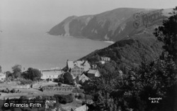 Lynton, View Of The Bay c.1938