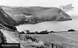 Lynton, Woody Bay c.1955