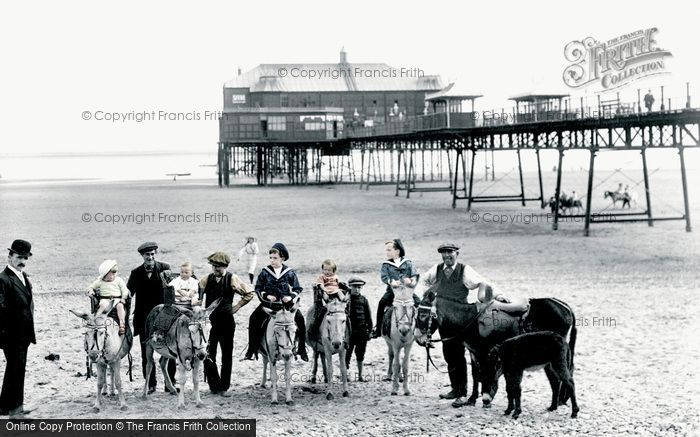 Photo of Lytham, Donkeys 1914