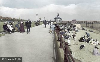 Lytham, the Promenade 1913