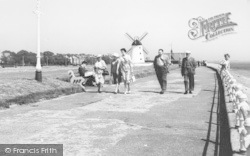 Lytham, The Promenade And Green c.1960