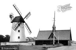 Lytham, the Windmill and Lifeboat Station c1955