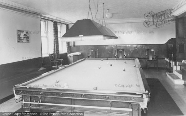 Photo Of Lytham Westwood Miners Convalescent Home The Billiard - Westwood pool table