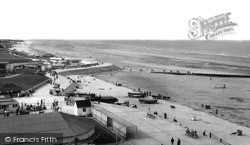 Mablethorpe, Beach And Promenade c.1955
