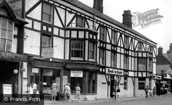 Mablethorpe, Book In Hand Hotel c.1950