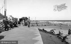 Mablethorpe, Central Beach c.1950