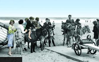 Mablethorpe, Donkey Rides c1950