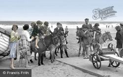 Mablethorpe, Donkey Rides c.1950
