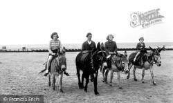 Mablethorpe, Donkey Rides c.1955