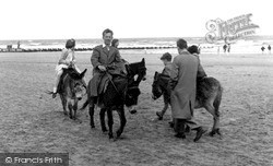 Donkey Rides On The Beach c.1950, Mablethorpe