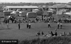 Mablethorpe, Golden Sands Caravan Park c.1955
