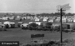 Golden Sands Caravan Park c.1955, Mablethorpe