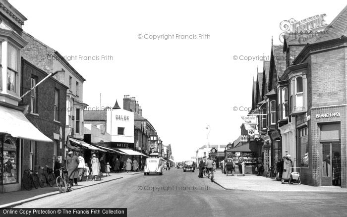 Photo of Mablethorpe, High Street c.1955