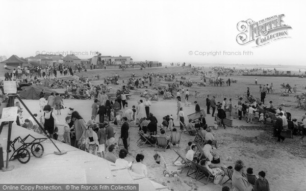 Mablethorpe, The Beach c.1955
