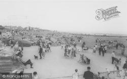 Mablethorpe, The Beach c.1955