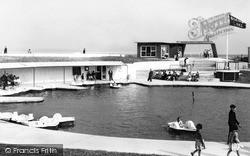 The Boating Lake c.1955, Mablethorpe