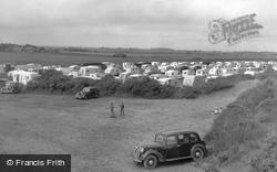 Mablethorpe, The Caravan Camp North End c.1950