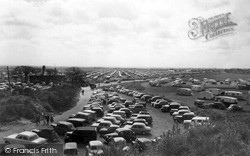 Mablethorpe, The Caravan Camp North End c.1955