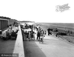 Mablethorpe, The Promenade c.1955