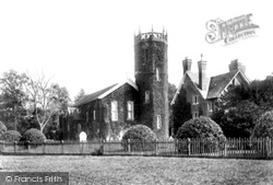 Macclesfield, Birtles Church And Vicarage 1903