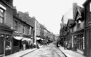 Macclesfield, Chestergate 1898