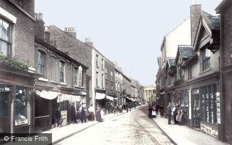 Macclesfield, Chestergate 1898