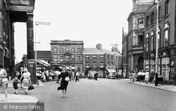 Macclesfield, Market Place 1957
