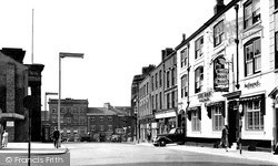 Macclesfield, Market Place c.1955