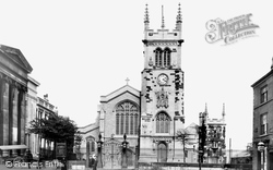 Macclesfield, Parish Church Of St Michael And All Angels 1903