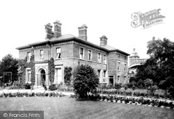 Macclesfield, Parkside Asylum, Doctor's House 1898