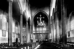 Roman Catholic Church, Interior 1897, Macclesfield