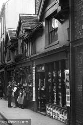 Shops In Chestergate 1898, Macclesfield