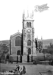 Macclesfield, St Michael's Church 1897