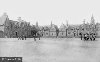Macclesfield, the Barracks 1903