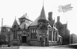 Macclesfield, The Free Library 1897