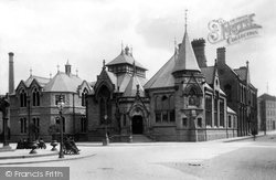 Macclesfield, The Free Library 1903