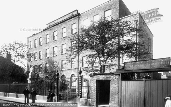 Photo of Macclesfield, The Sunday School 1897