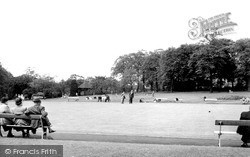 Macclesfield, The Victoria Park c.1955