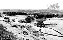 Macclesfield, View From Buxton Road c.1955